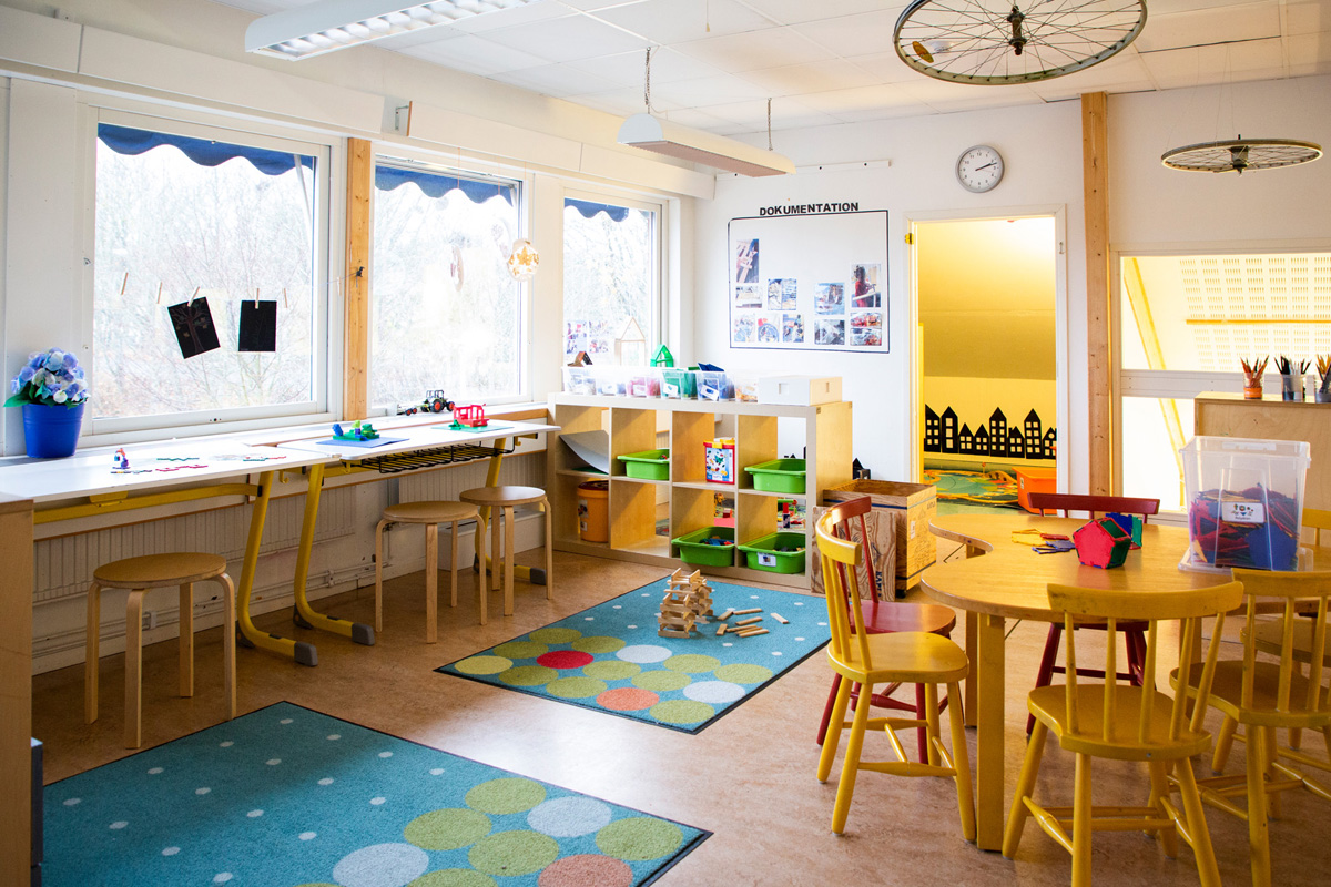 Förskolan IQRA Väst - ett av alla kreativa rum